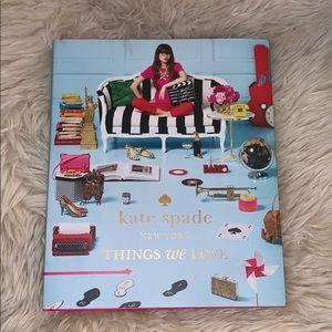 Kate Spade Things We Love Book